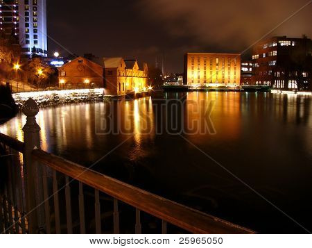 Night in Tapere, Finland, Europe