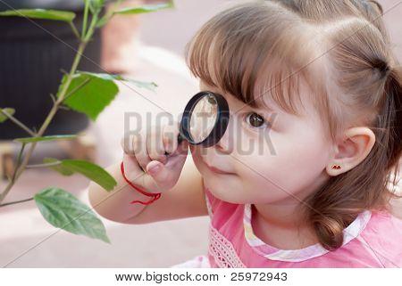 Little naturalist Outdoors