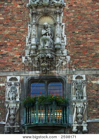 Window In Brugge