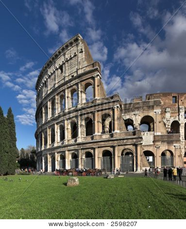 Colosseum, Roma, Italy