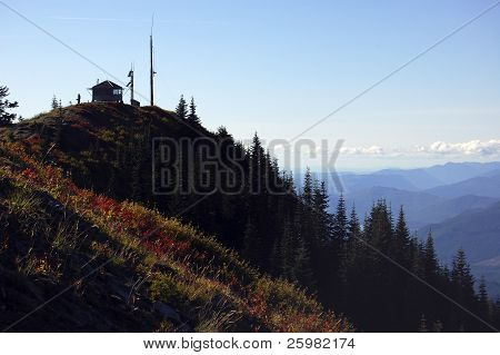Burley Mountain fire lookout
