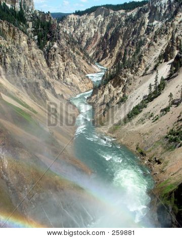 White Water Rainbow