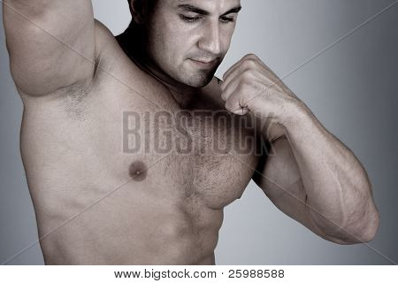 The Perfect  Muscular male model