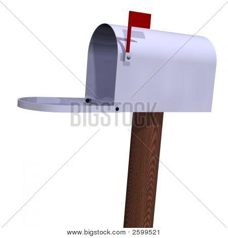 Open Rural Mailbox