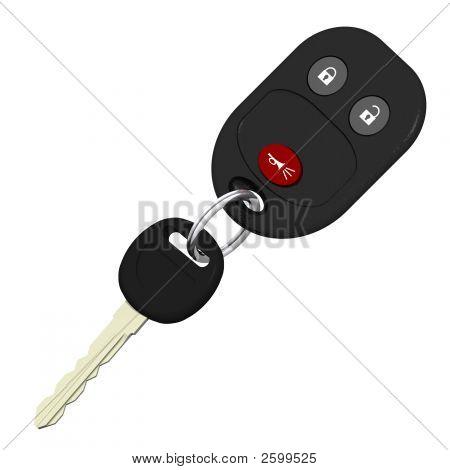 Chaves do carro sem fio