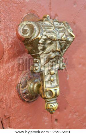 Old door handle colonial style, Trinidad , Cuba