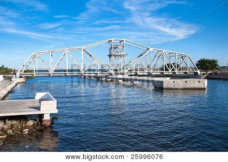 One of  21  bridges over a two rivesr in Matanzas, date from 1899, Cuba