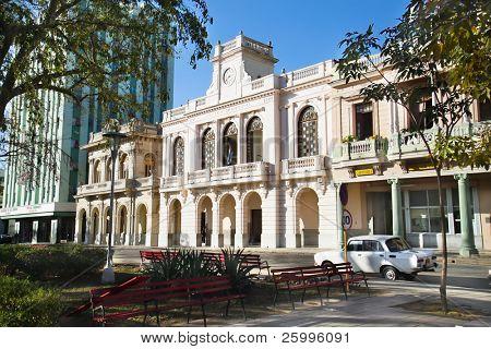 Cultural center Juan Marinello, Casa de la Cultura Juan Marinello in Palacio Municipal, Santa Clara , Cuba