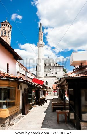 Bascarsija, street of Sarajevo , Bosnia and Hertzegovina