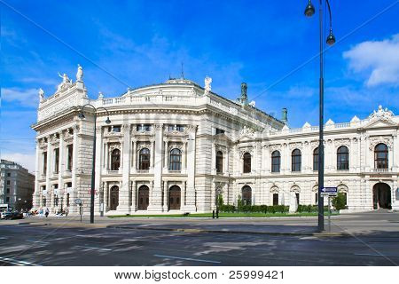 The Burgtheater is the Austrian National Theatre in Vienna and one of the most important German language theatres in the world. It was built in 1888. Austria