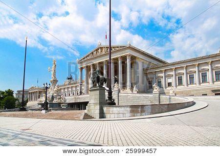 Austrian parliament, Vienna,Austria