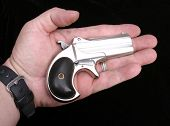 picture of derringer pistol  - Circa 1889 - JPG
