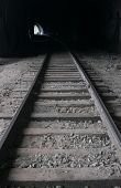 image of transcontinental  - Old railroad tunnel of the Circum - JPG