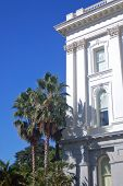 Side Of Califronia Capitol Building poster
