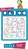 Count How Many Shapes poster
