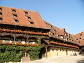 foto of regnitz  - Tipical Bavarian houses in Bamberg - JPG