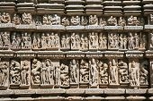 image of tantric  - Detail of Vishnavath temple - JPG