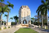 pic of burial-vault  - Mausoleum of national hero Jose Marti at cemetery Santa Ifigenia in Santiago de Cuba - JPG