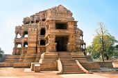 The beautiful Sasbahu, or Mother-in-Law and smaller Daughter-in-Law temples in Gwalior, Madhya Prade