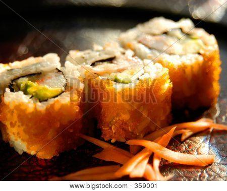 Sushi Closeup