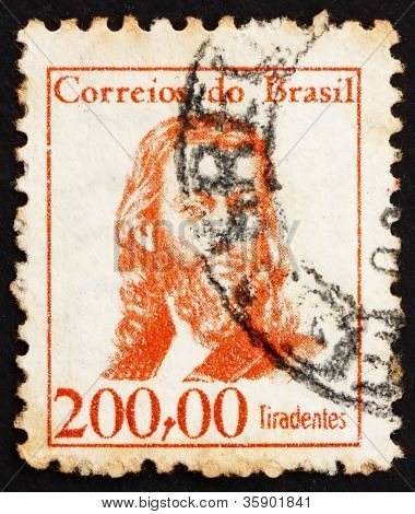 Postage stamp Brazil 1965 Tiradentes, Revolutionary