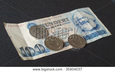 DDR-banknote