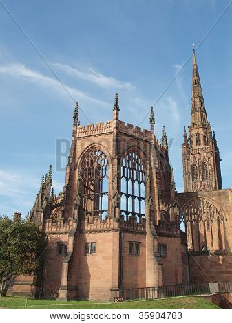 Coventry Cathedral ruins