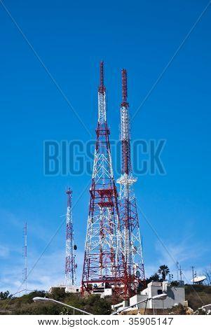 Modern Communication Towers