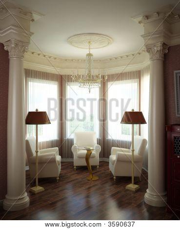 3D klassischen Interieur