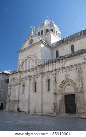 Cathedral in Sibenik, Croatia