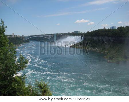 The Rainbow Bridge & Niagara Falls