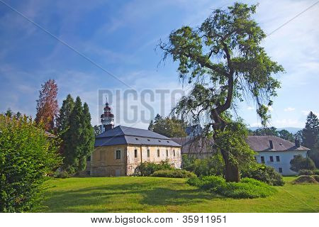 Castle In Velke Losiny (czech Republic)