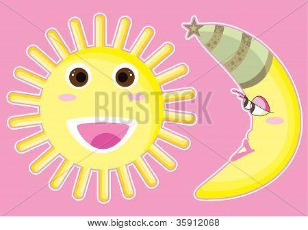 Happy Sun And Moon.