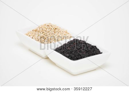 Black And White Sesame Seeds