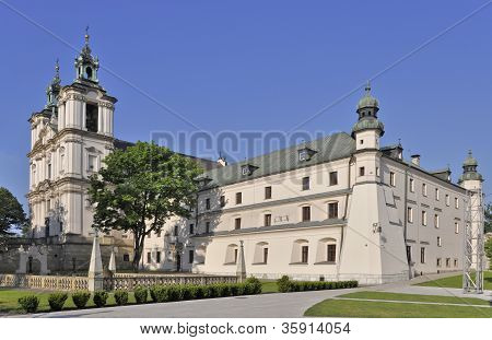 Skalka Sanctuary In Cracow, Poland