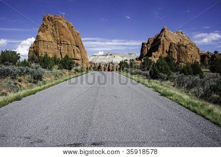 Quadro de estrada