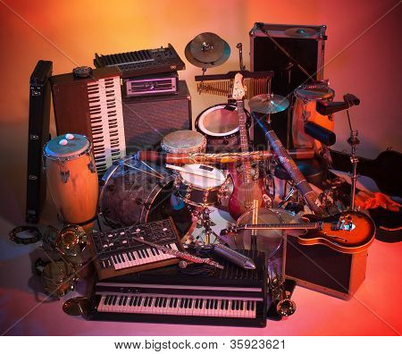 Mix Of Instruments