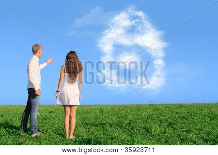 Young Couple Dreaming About New House