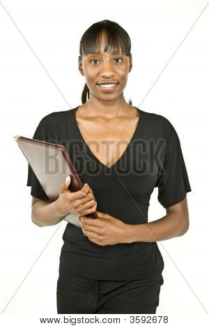 African American Business Woman Or Student