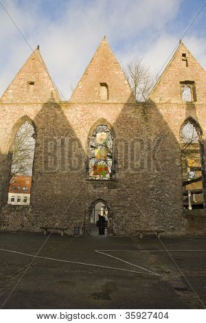 Ruins of Aegidienkirche, Hanover, Germany