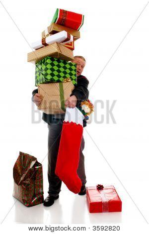 Pilha de Natal