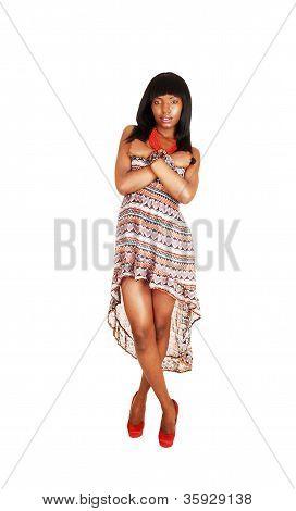 Hermosa chica negra.