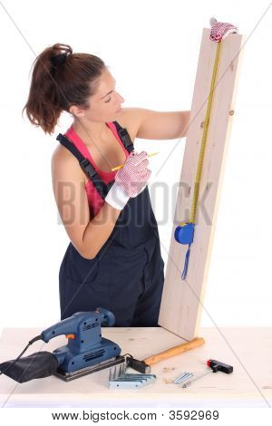 Woman Carpenter