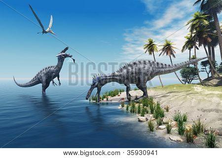 Suchomimus Dinosaurs