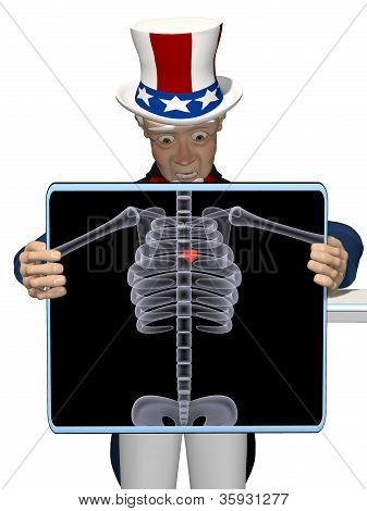 Uncle Sam - X-ray