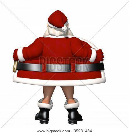 Santa Flashing