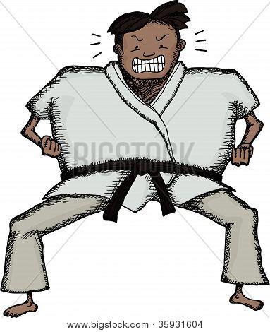 Tough Karate Man