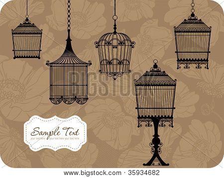 Vintage Bird Cages