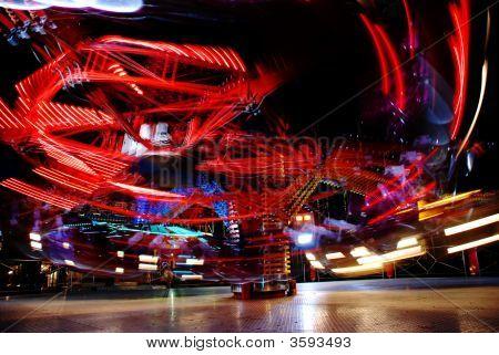 Motion Of Lights