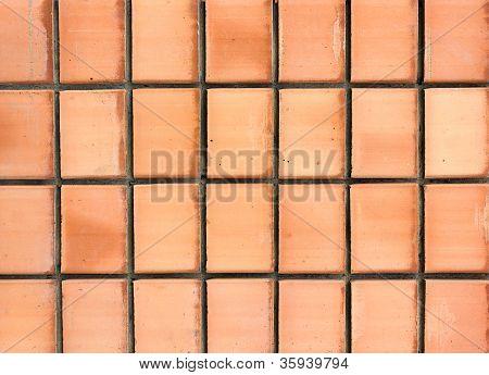 A Brick Wall Close-up